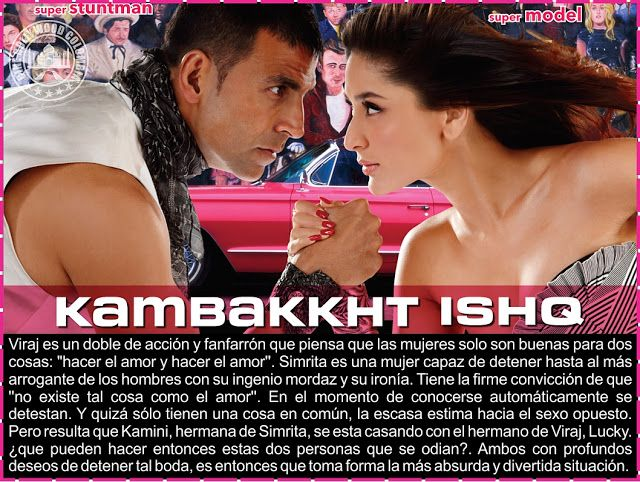 Cine Bollywood Colombia: KAMBAKKHT ISHQ