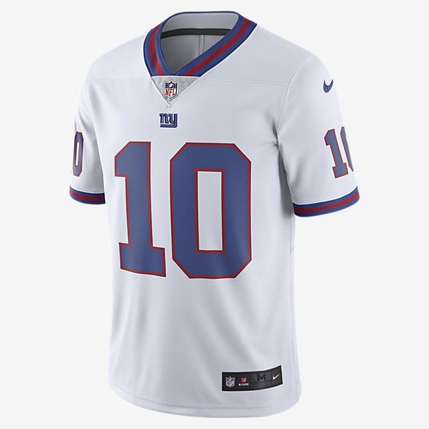 NFL New York Giants Color Rush Limited Jersey (Eli Manning) Men's Football Jersey