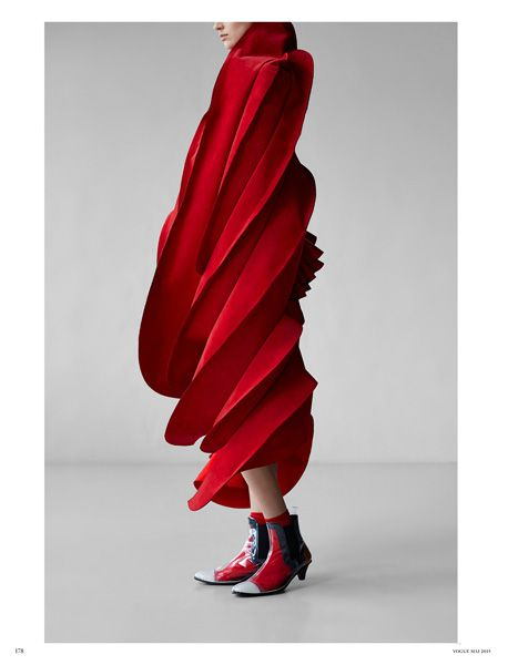 """COMME des GARCONS 2015 SS """"ROSES AND BLOOD""""   Purchased at DOVER STREET MARKET…"""