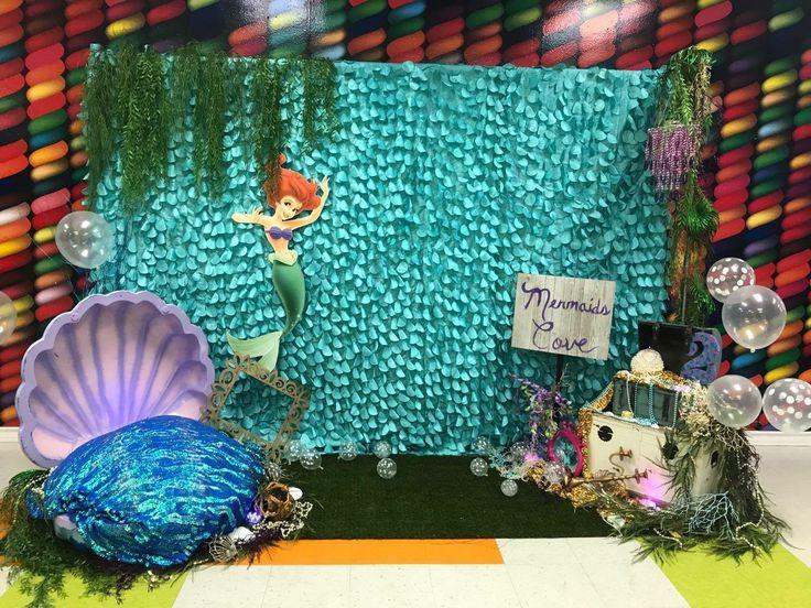 Little Mermaid Backdrop