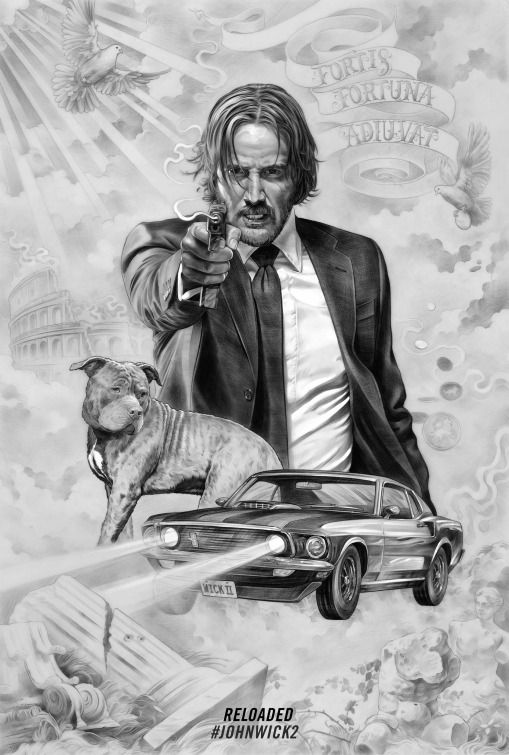 John Wick: Chapter Two (aka John Wick 2) Movie Poster (#11 of 11) - IMP Awards