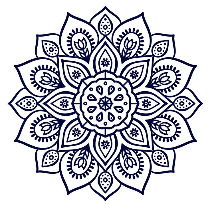57 Best Mandala Images On Pinterest