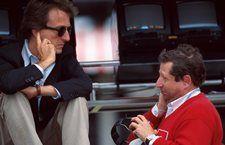 Luca di Montezemolo(ITA) Ferrari President and Jean Todt, right British Grand Prix, Silverstone, 14th July 1996
