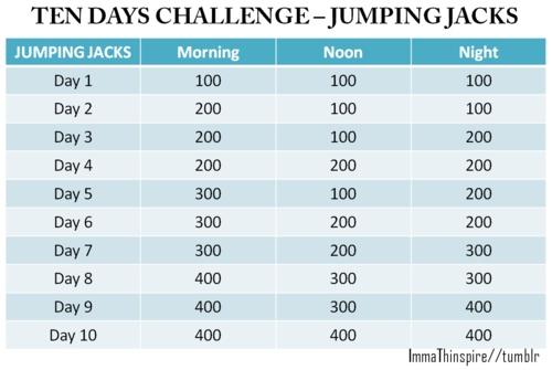 Jumping jacks how many calories