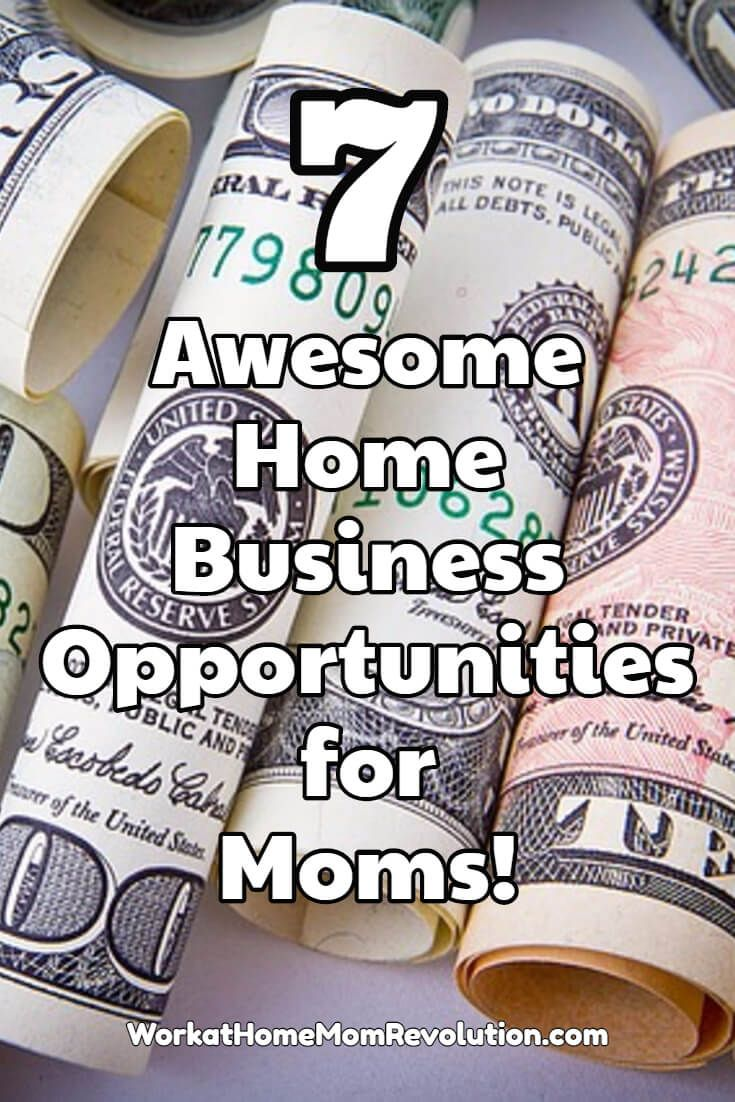 Do you want to be your own boss? Looking for a home business that's legitimate and costs little to start? Here are 7 home-based businesses I highly recommend! Awesome work from home opportunities! You can make money from home!
