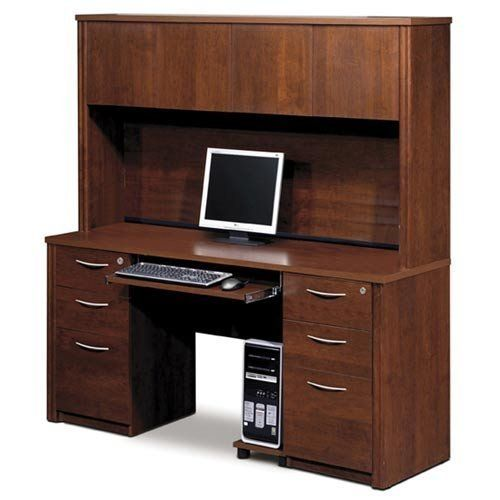 Bestar Bestar Embassy Executive Desks by Bestar. $1522.00. Authorized Bestar Dealer for 60872-63 Executive Desks. Warm and elegant, the Embassy Collection stands out with its versatility. From executive groups to computer work centers, Embassy is the answer. Stylish moldings, thermofused melamine finish, and designer handles are some of the great features offered in this stunning collection by Bestar. This traditional modular collection offers numerous configuration for vari...