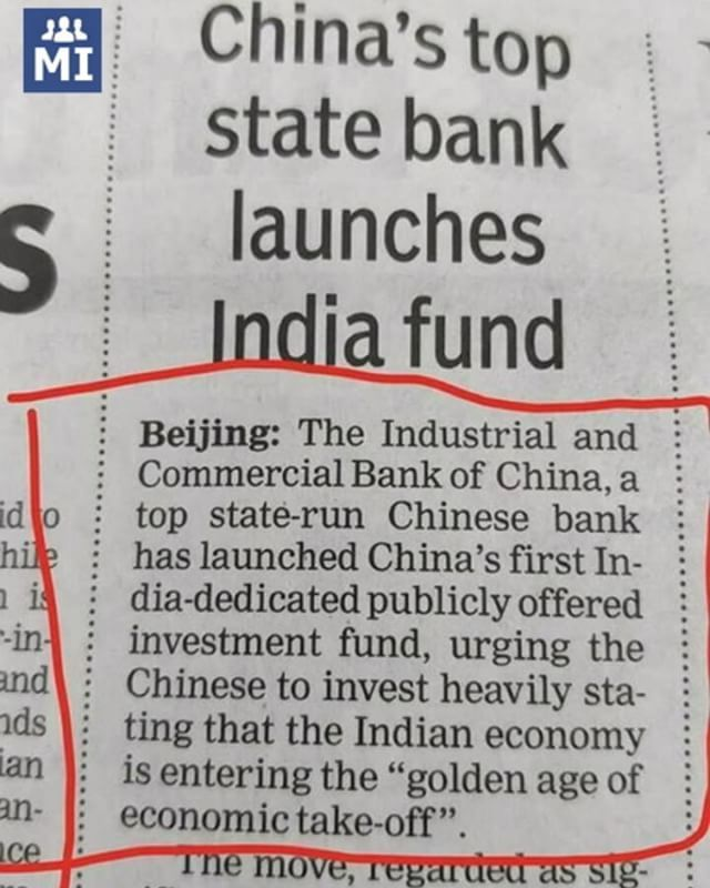 Firsemodi China Feels The Fear Of Booming Economy Of India