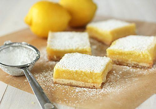 The Galley Gourmet: Lemon Squares