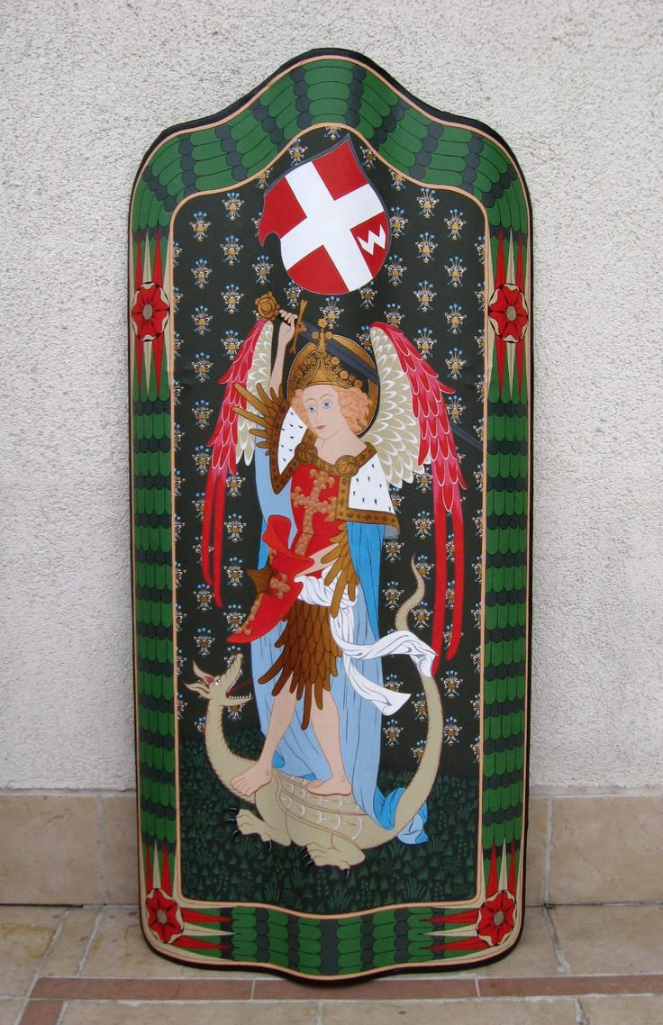 The Pavise with the Polish coat of arms Dębno