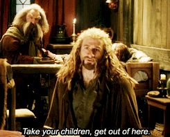 Fili is essentially the most kind-hearted of them all, he knows that Kili's in grave danger and yet he still tells Bard to go to take his family and keep them safe because family is what's important to Fili above all else and when they don't he tries to protect the Bardlings he literally flings himself unarmed at an orc double his size with no plan apart from 'keep the children safe'HE WOULD HAVE BEEN AN AMAZING KING AND AN AMAZING FATHER...DON'T TOUCH ME!!!!