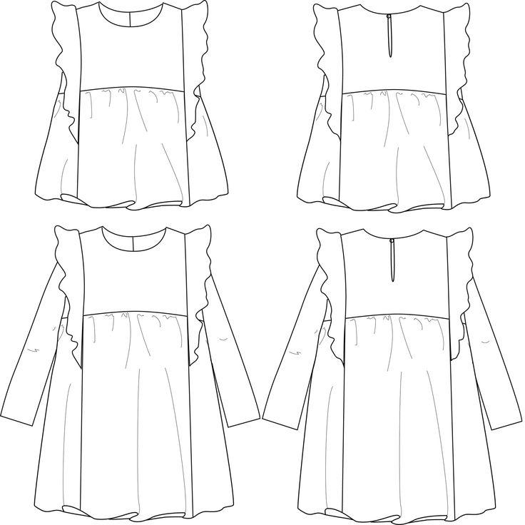 17 meilleures id es propos de robe fille 12 ans sur for Couture a fronce