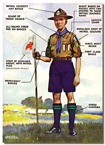 Old Scouts Uniform