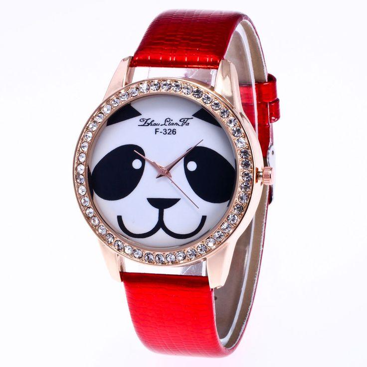$4.10 (Buy here: https://alitems.com/g/1e8d114494ebda23ff8b16525dc3e8/?i=5&ulp=https%3A%2F%2Fwww.aliexpress.com%2Fitem%2FCute-Panda-Watch-Man-Women-PU-Leather-Analog-Quartz-Wrist-Watch-Rhinestone-Unisex-Casual-Dress-Watches%2F32793330633.html ) Cute Panda Watch Man Women PU Leather Analog Quartz Wrist Watch Rhinestone Unisex Casual Dress Watches Reloj 2017 Relogio for just $4.10