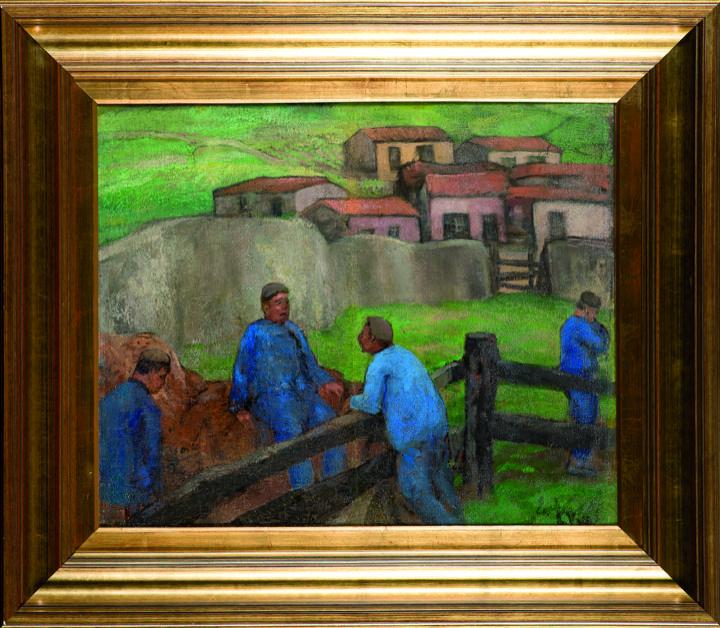 Mejores 22 im genes de pintores asturianos en pinterest - Pintores en gijon ...