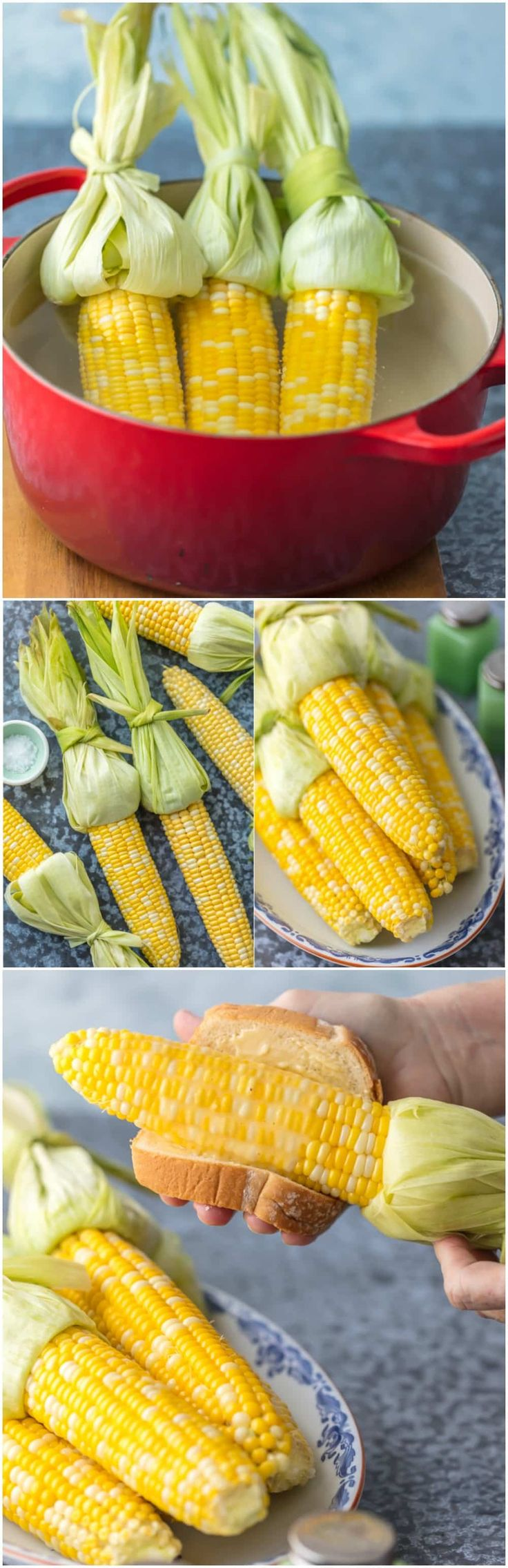 Have you wondered HOW TO COOK CORN ON THE COB? It's never been easier. A few secret tricks to making the most delicious sweet corn every Summer! via @beckygallhardin