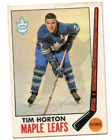 Tim Horton hockey card, circa1950?
