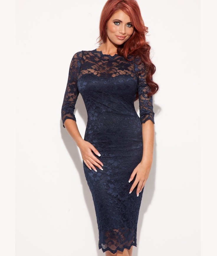 Amy Childs Lacey Pencil Dress