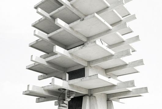 Concrete Building Structure Exposed Skeleton