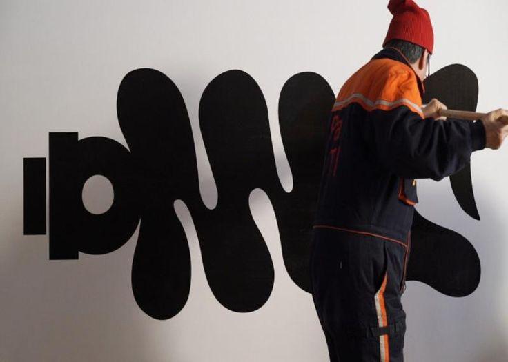 Korean typographer Ahn Sang Soo
