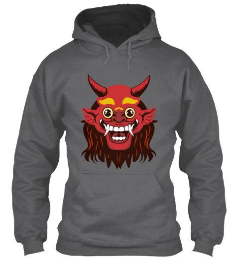 Halloween Dark Heather T-Shirt Front