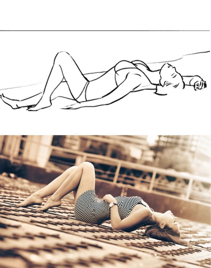 20 successful female poses for the photoshoot 16