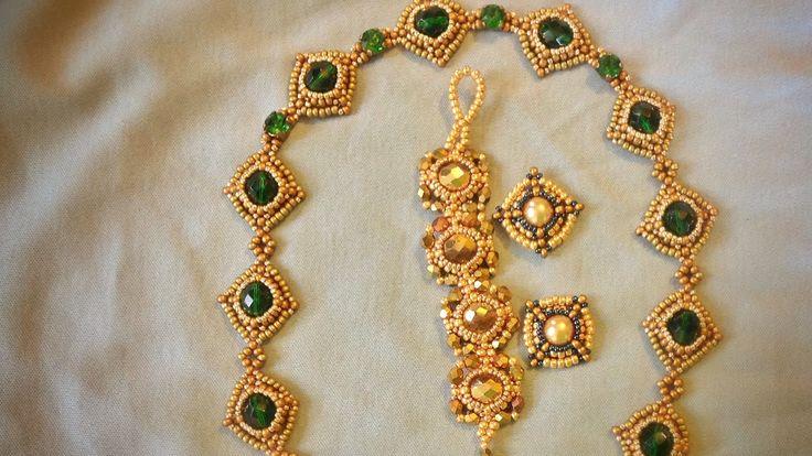 Jewellery Component 8mm Bezeled Bead - Tutorial