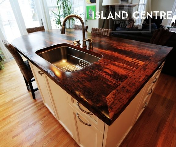 Custom Epoxy Island Top | Kitchen Ideas | Pinterest