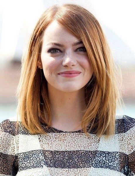 Bilder schulterlanger Haarschnitte   – Neue Besten Haare ideen 2019