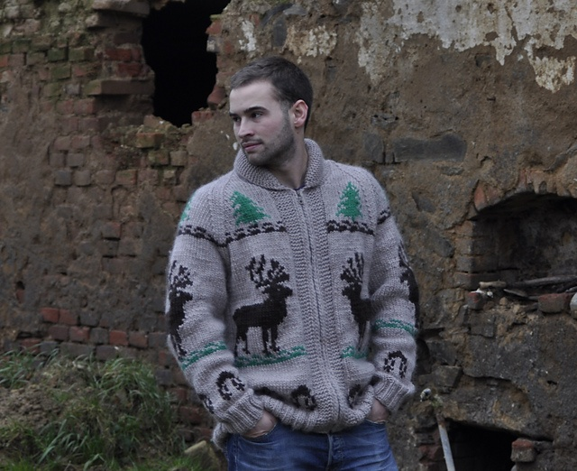 Ravelry: Vintage Reindeer Sweater pattern by Mary Maxim
