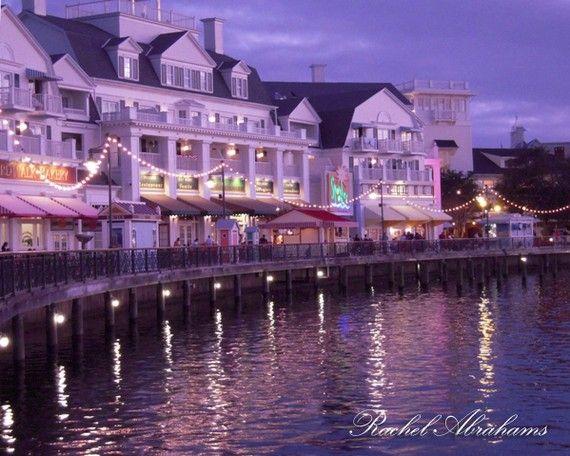 we <3 the boardwalk.... Boardwalk Hotel In Twilight Walt Disney World by AspiringImages, $20.00