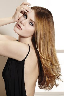 Caramel Blonde Hair Color - Get a soft blonde look with one of the most easy to maintain shades: caramel blonde. Experiment the caramel blonde hair color, either as a base or highlights.