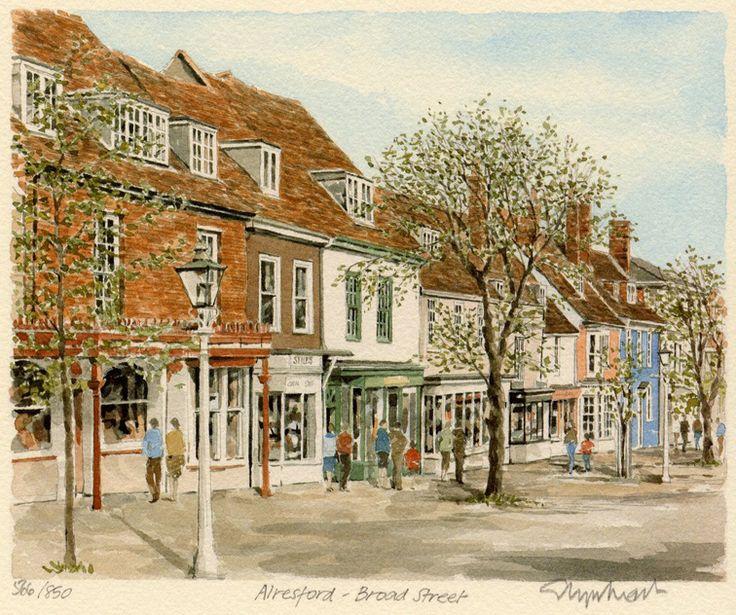 Alresford - Broad St. - Portraits of Britain
