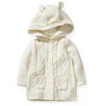 Dymples True Knit Cable Hood Cardigan