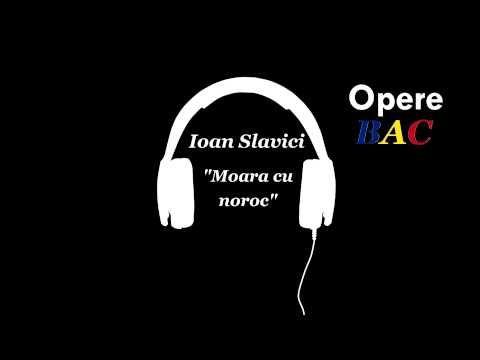 Ioan Slavici - Moara cu Noroc   Nuvela Psihologica