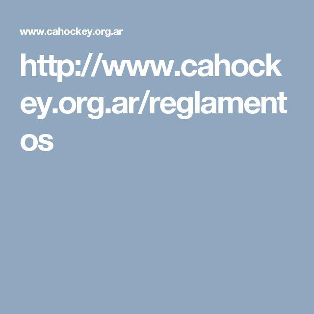 http://www.cahockey.org.ar/reglamentos
