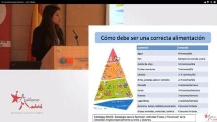 Trastornos de la alimentación de los niños con TEA. Papel nutricionista. Ponencia de Lucía Villalba