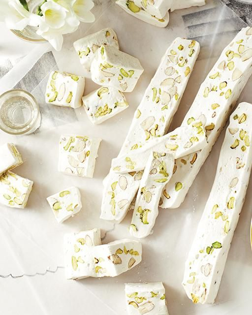 Sweet Paul's Nougat Blanc with Almonds & Pistachios