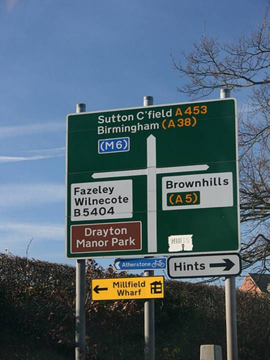 Mile Oak in Tamworth, Staffordshire