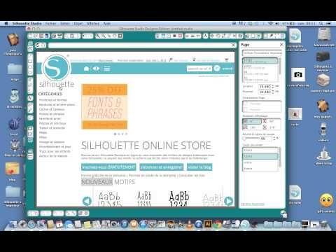 Silhouette Studio pour les débutantes .2 Comment récupérer les fichiers Silhouette ?
