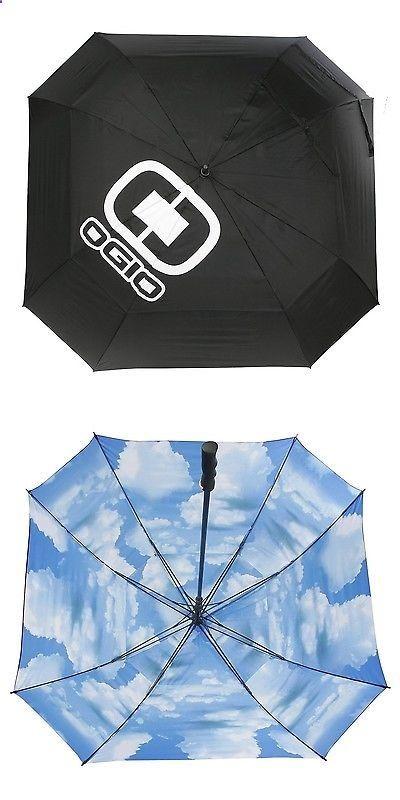 Golf Umbrellas 18933: Ogio 72-Inch Golf Umbrella Black Blue Sky New -> BUY IT NOW ONLY: $57.38 on eBay!