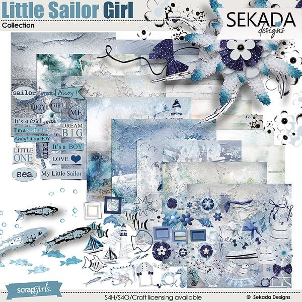 Little Sailor Girl Collection
