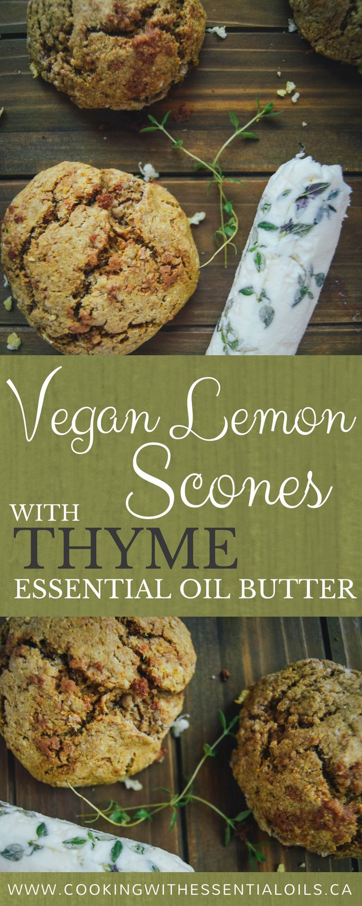 The recipes in this article has been created by fellow food blogger Amanda from Sweet Basil & Thyme who agreed to try essential oils in her own kitchen and share her experience. #thyme #essentialoil #vegan