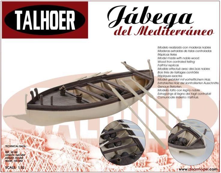 Oferta Talhoer 20160 - Kits maqueta barco Jábega., IndalChess.com Tienda de juguetes online y juegos de jardin