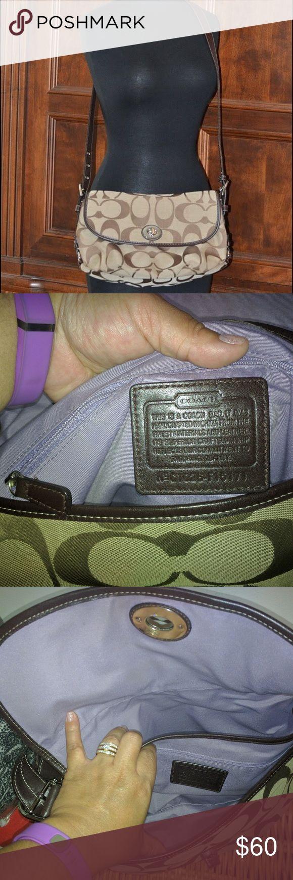Coach Bag Coach Duffle Bag.  Can wear as a cross body or shoulder bag. Excellent condition! pet/smoke free home Coach Bags Crossbody Bags