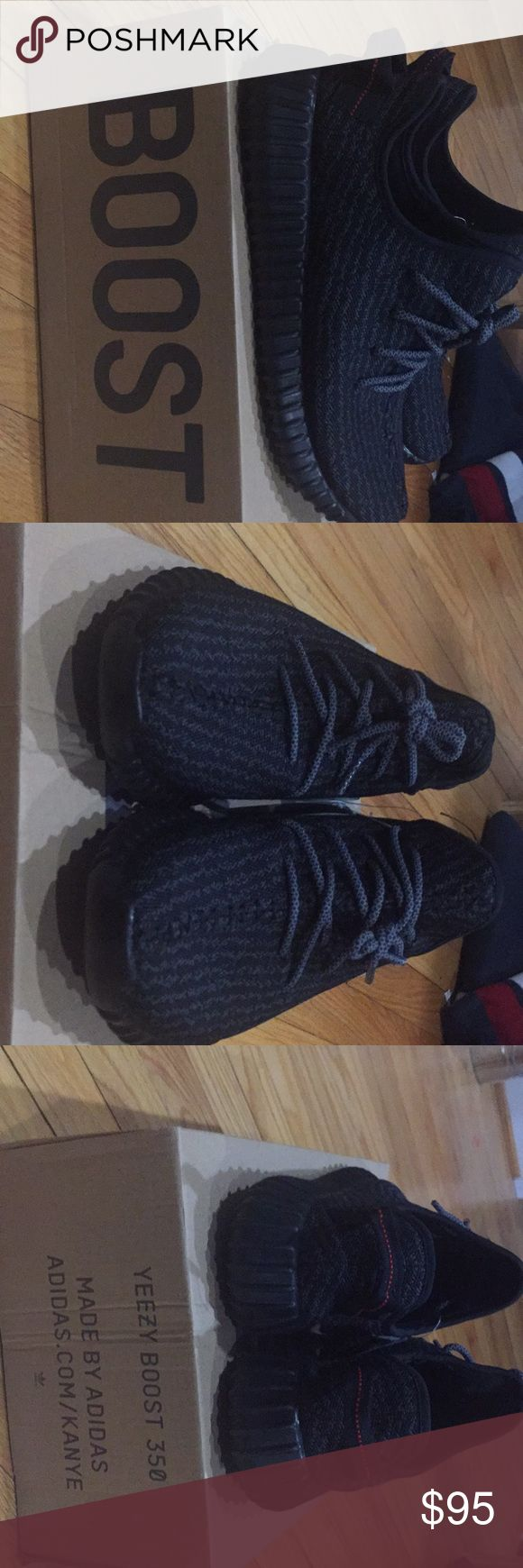 Yeezy Pirate Black 350 Yeezy Pirate Black 350 Size 9.5 Yeezy Shoes Athletic Shoes