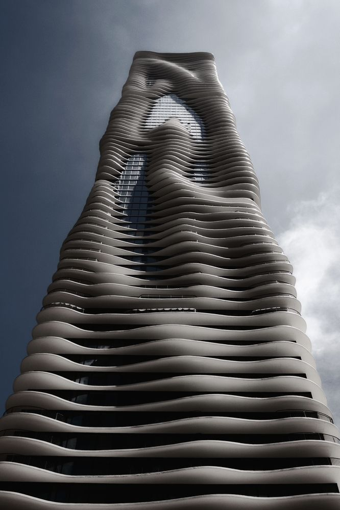 "vistale: ""  Aqua Tower Chicago 