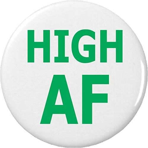 "Shop https://goo.gl/BrpSTU   High AF 2.25"" Keychain  Weed Cannabis Marijuana Funny Humor    Price 2.99   Go to Store https://goo.gl/BrpSTU  #225 #AF #Cannabis #Funny #High #Humor #Keychain #Marijuana #Weed"