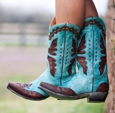 Cowgirl Boots.. cute