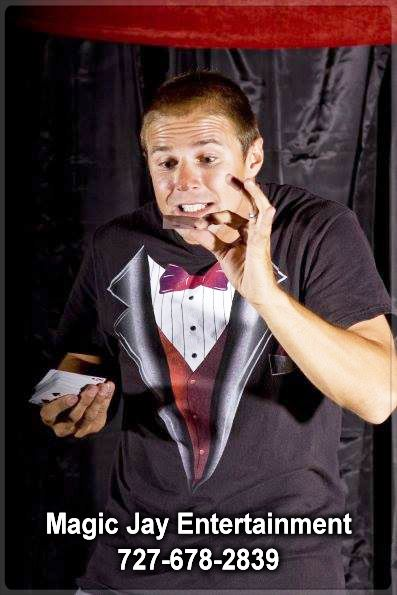 HIRE Magician Magic Jay for your Company Anniversary He is a professional party magician in Clearwater Beach, Florida CALL (727) 678-2839 for bookings and inquiries!