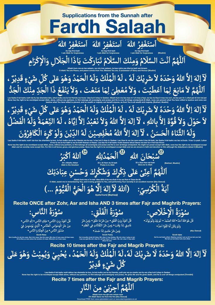 Supplications after Salaah by billax.deviantart.com
